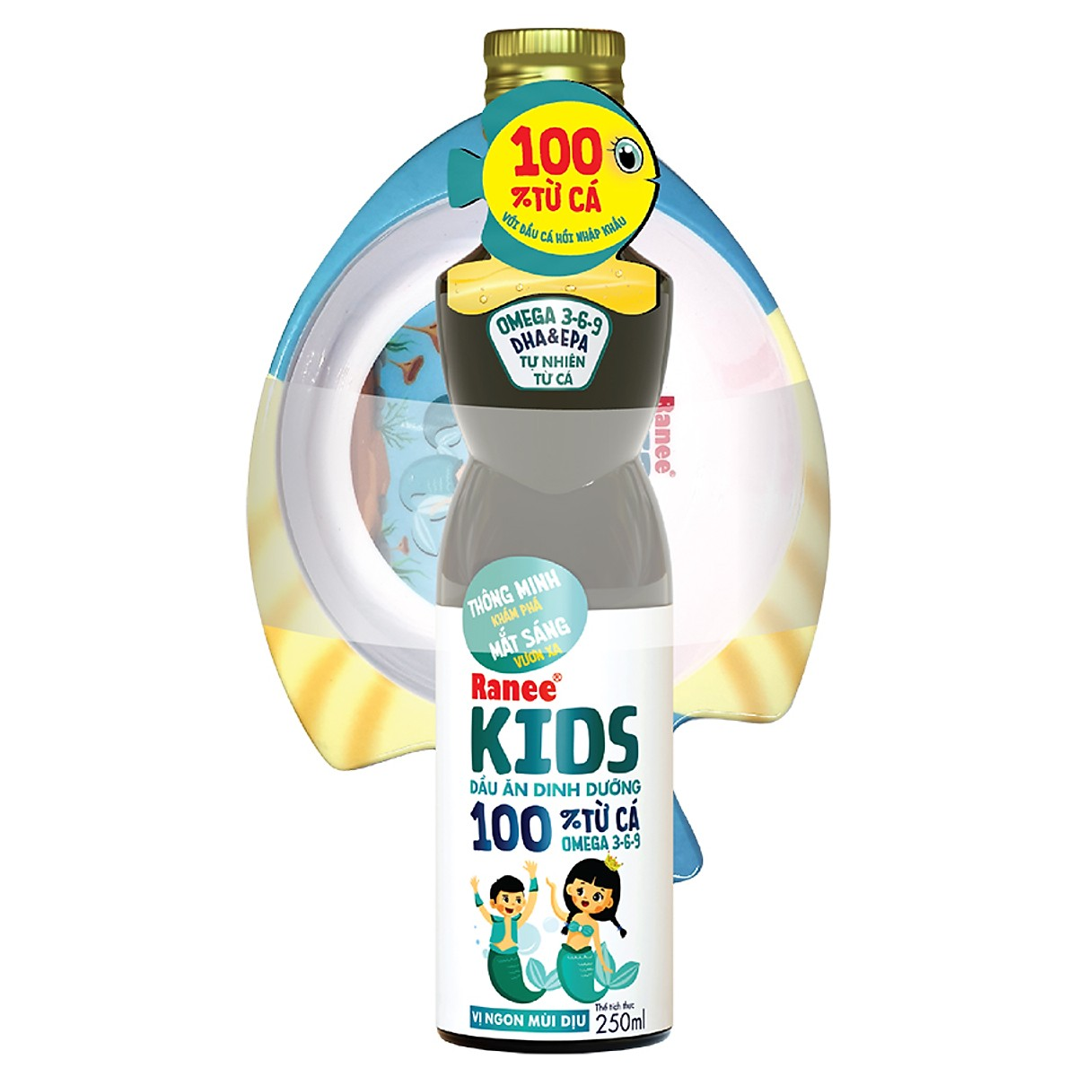 Dầu Ăn Dinh Dưỡng Ranee Kids (250ml)
